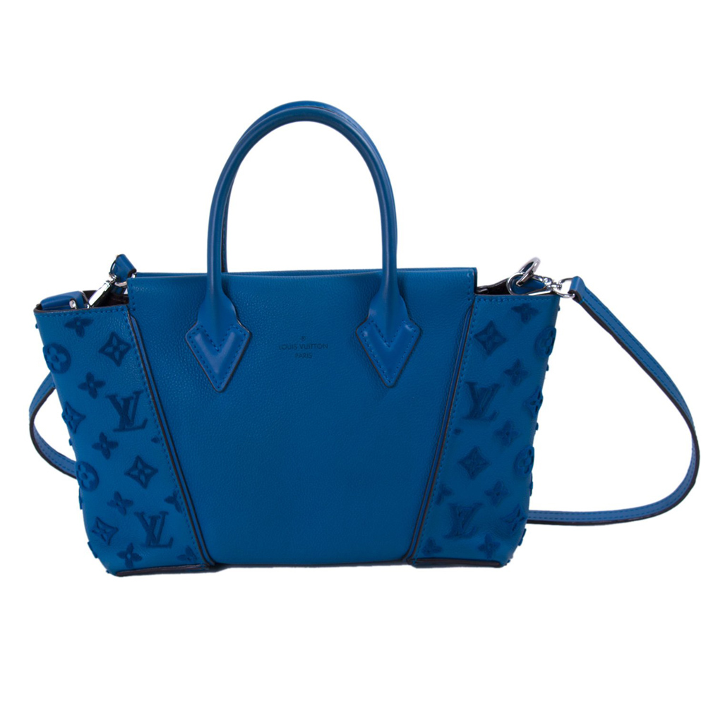 b4b0e07faa09 LOUIS VUITTON BLUE LAGON W BB TOTE HANDBAG -